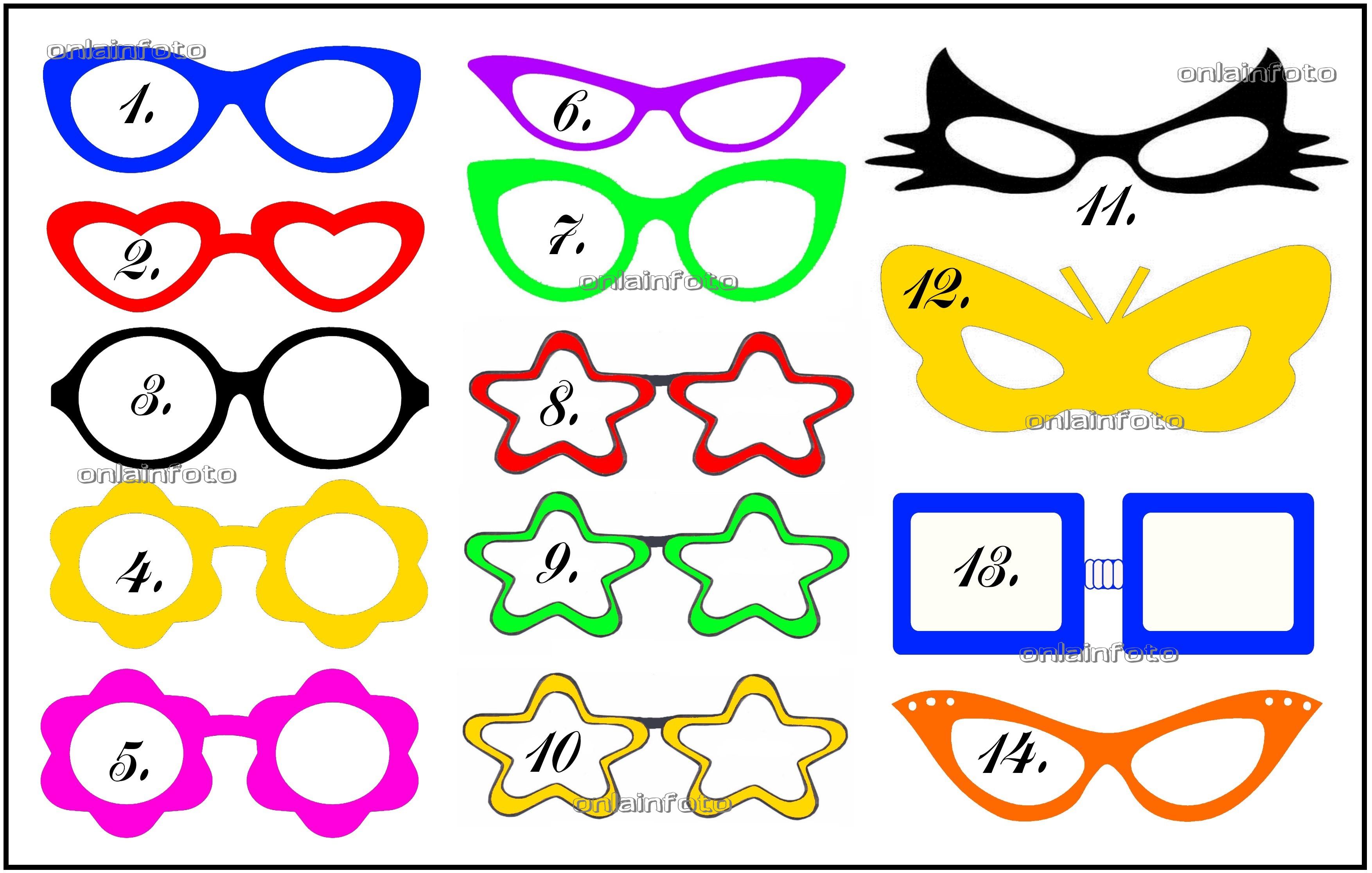 Как сделать очки из бумаги своими руками поэтапно фото для начинающих 27