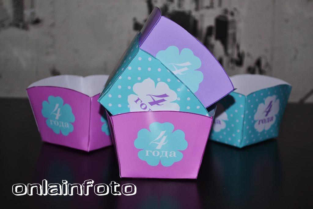 голубые коробочки