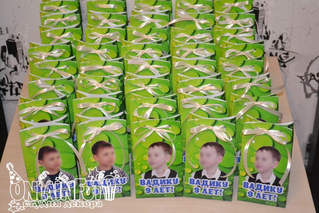 пакетики бумажные с фото черепашки ниндзя