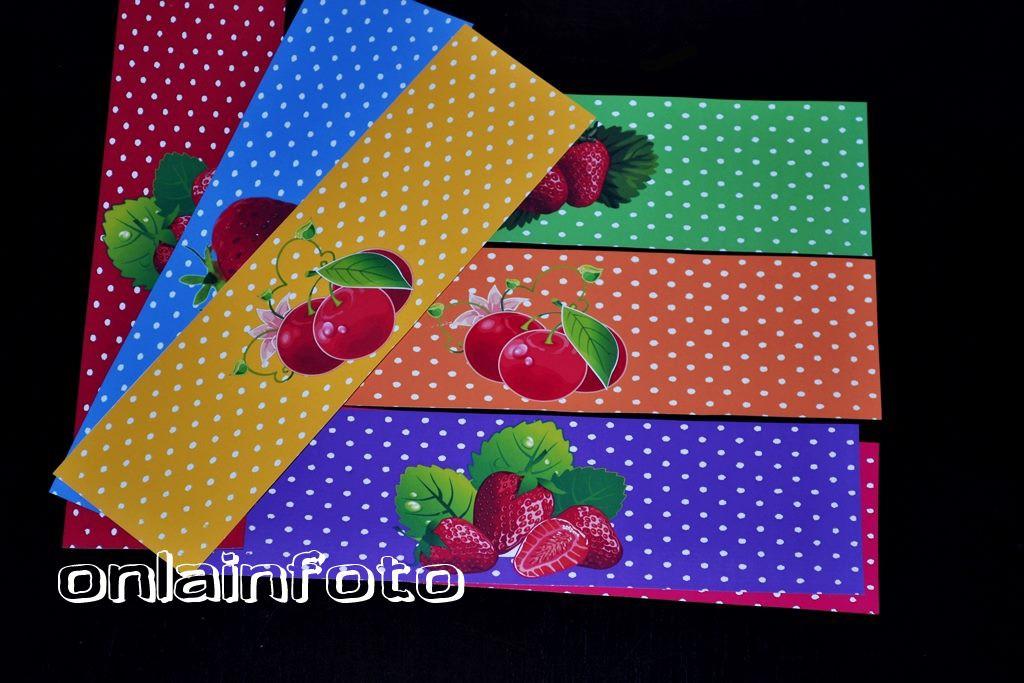 ягодные наклейки на сок