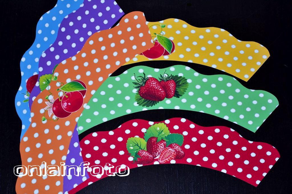юбочки с ягодами