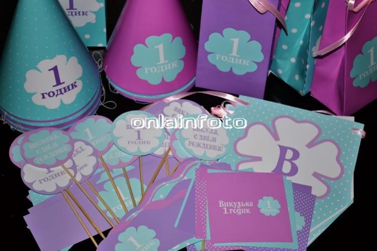Мятный, фиолетовый кэнди бар
