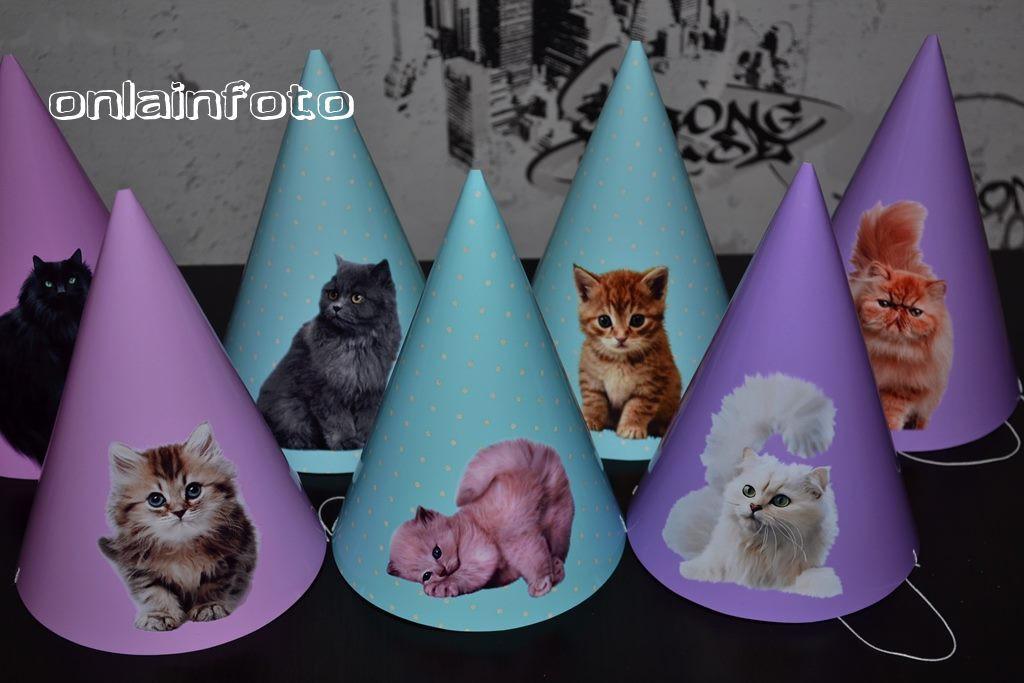 колпачки с кошками, котятами