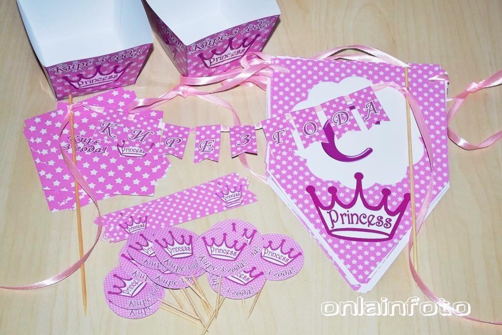 украшения для принцесс с коронами