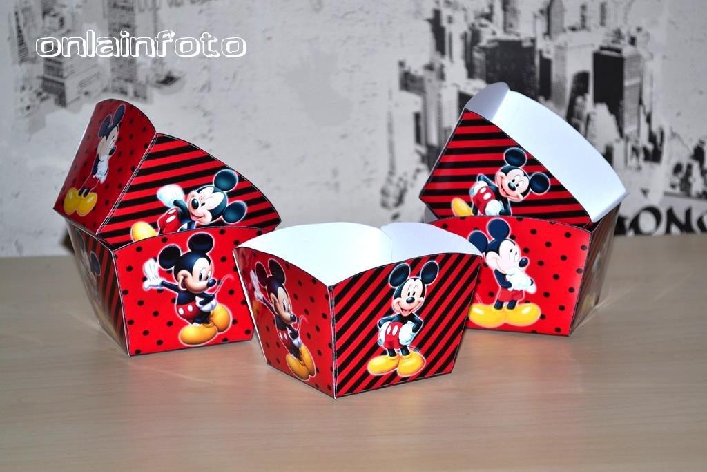 коробочки для попкорна с микки