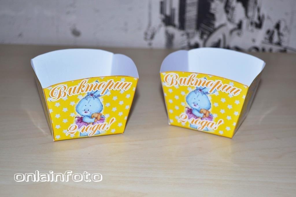 коробочки для попкорна с зайчиками