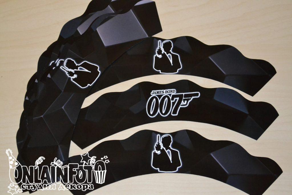 обертка для капкейка 007