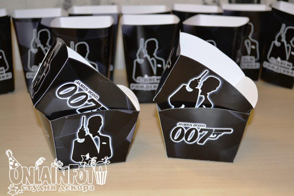 коробочки агент 007