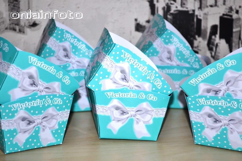 коробочки для попкорна тиффани