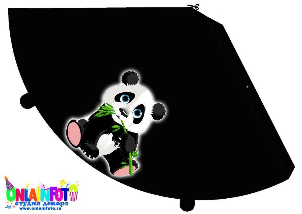 черный колпак панда