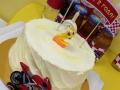 топпер на торт красный