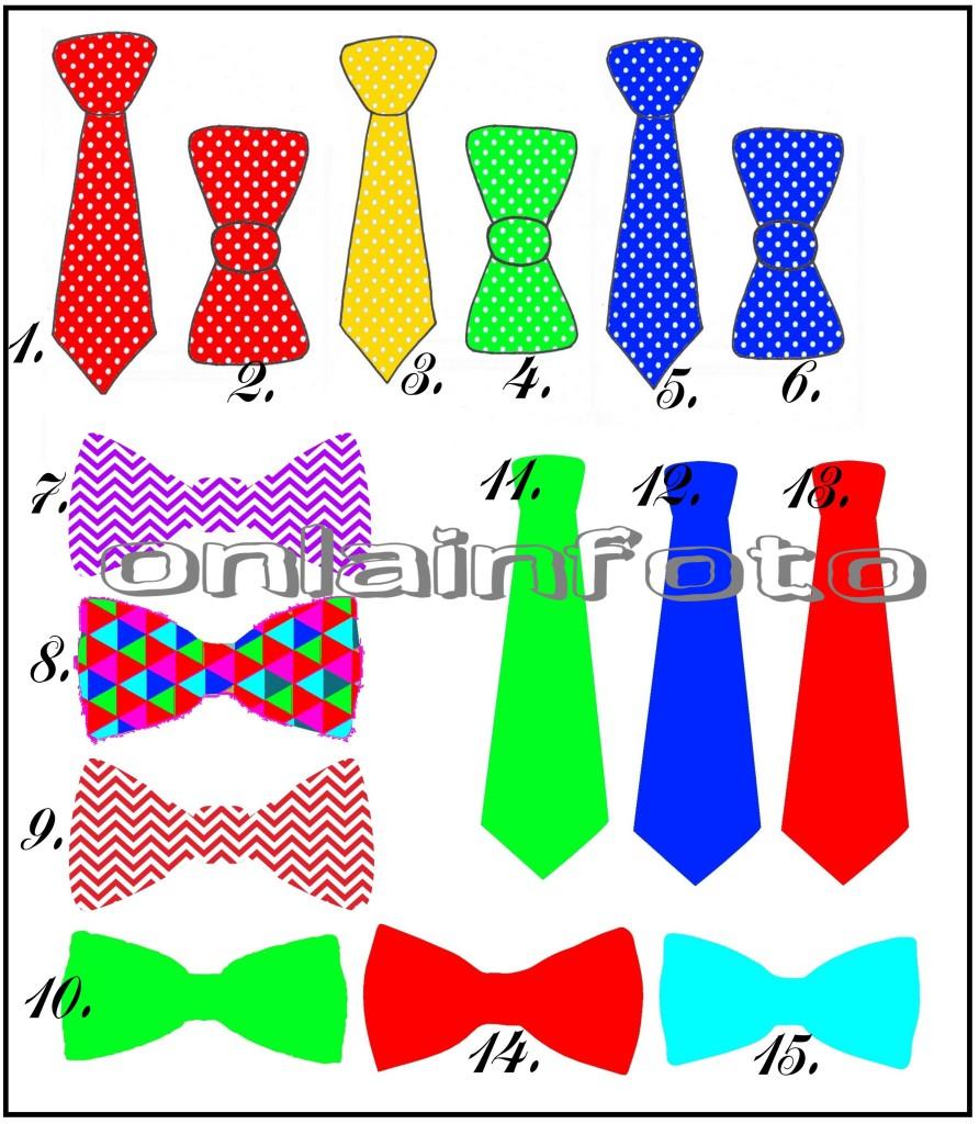 галстук бант