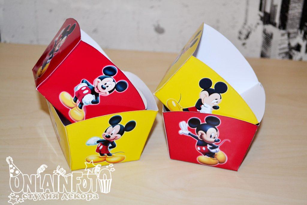 коробочки с микки