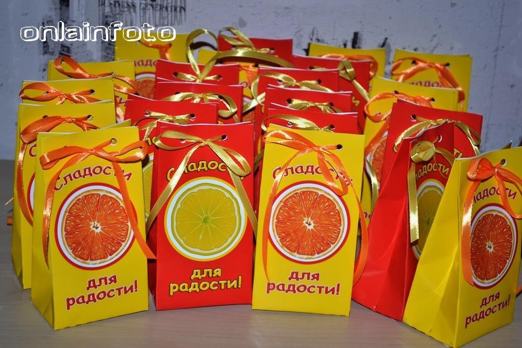 пакетики апельсин лимон