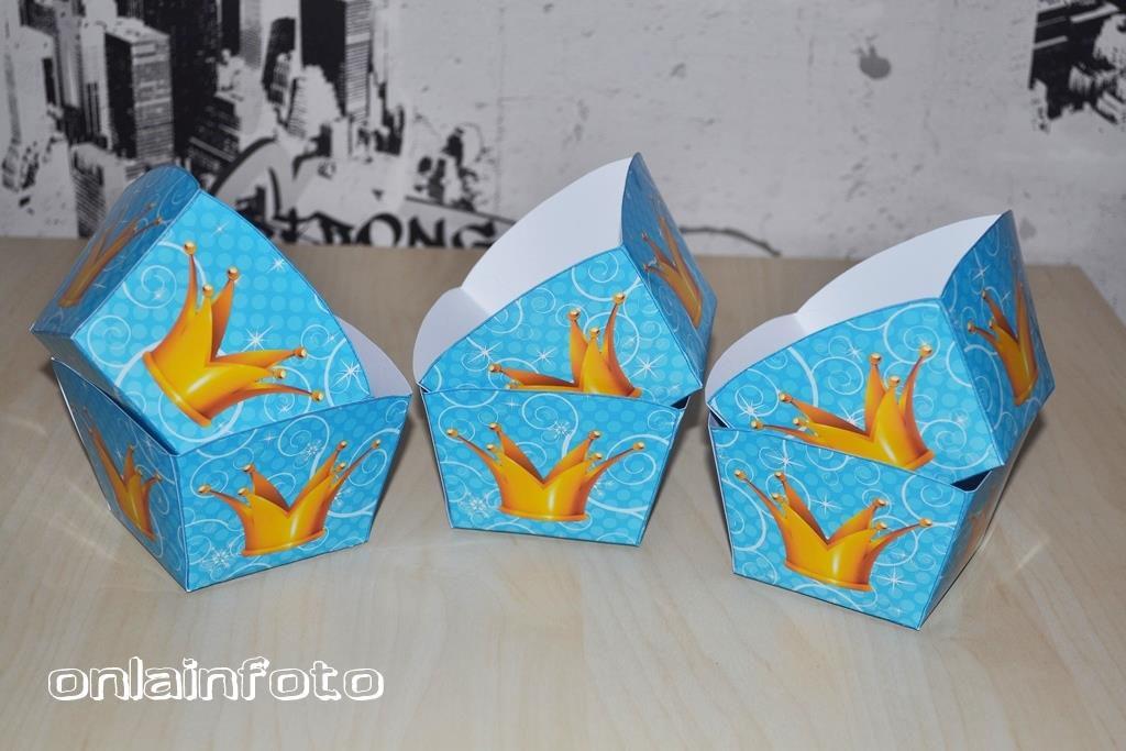 коробочки для попкорна принц