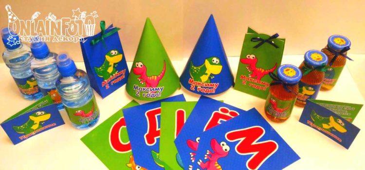 кенди бар сладкий стол динозаврики