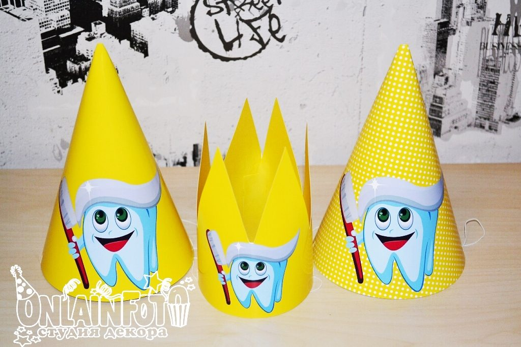 колпачки корона первый зуб