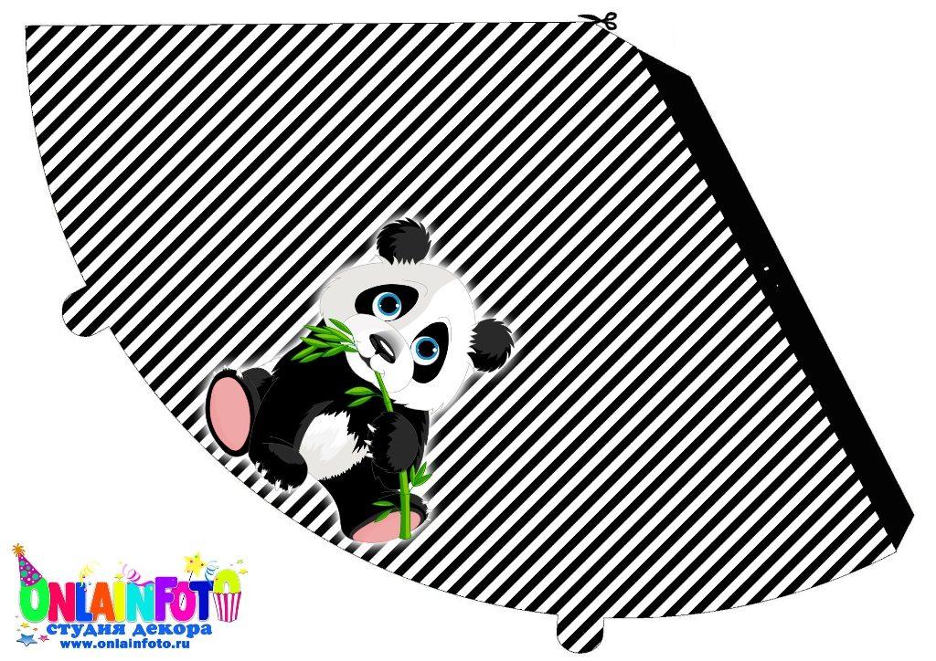 колпак мишка панда